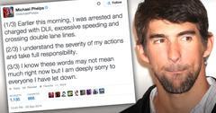//michael phelps dui takes responsibility twitter response pp sl