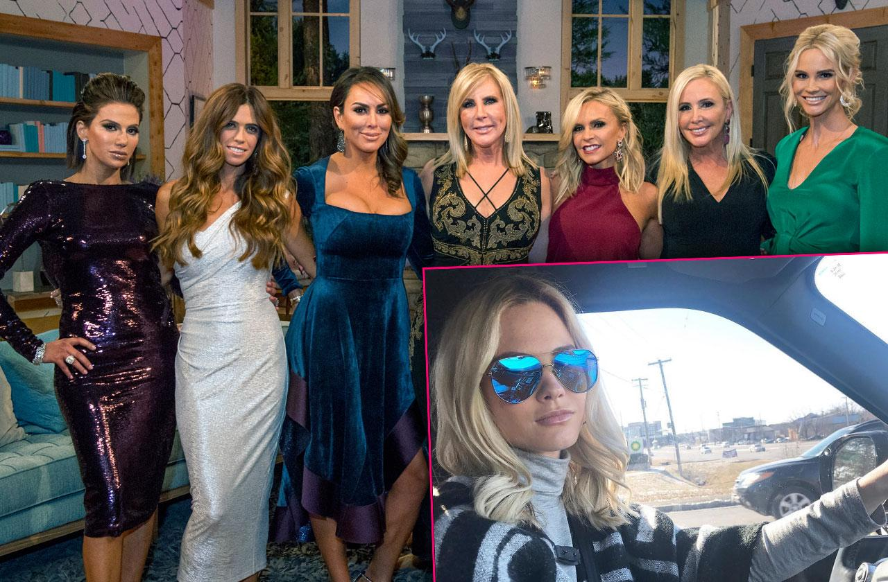 //RHOC Season  Cast Drama Explodes pp