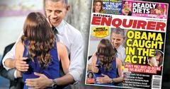 //us president barack obama caught wandering eye hands michelle pp sl