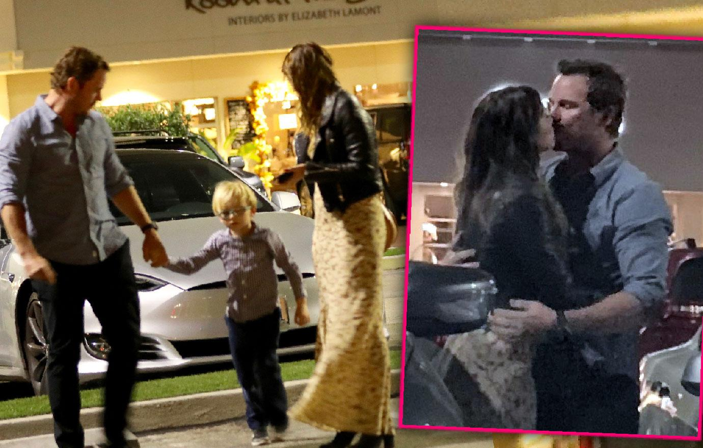 Chris Pratt Enjoys Dinner With Maria Shriver's Family
