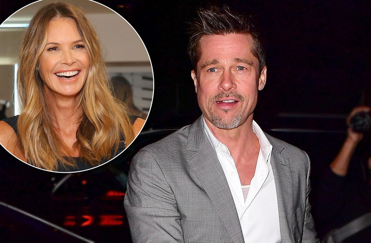 Brad Pitt date elle macpherson divorce rumors