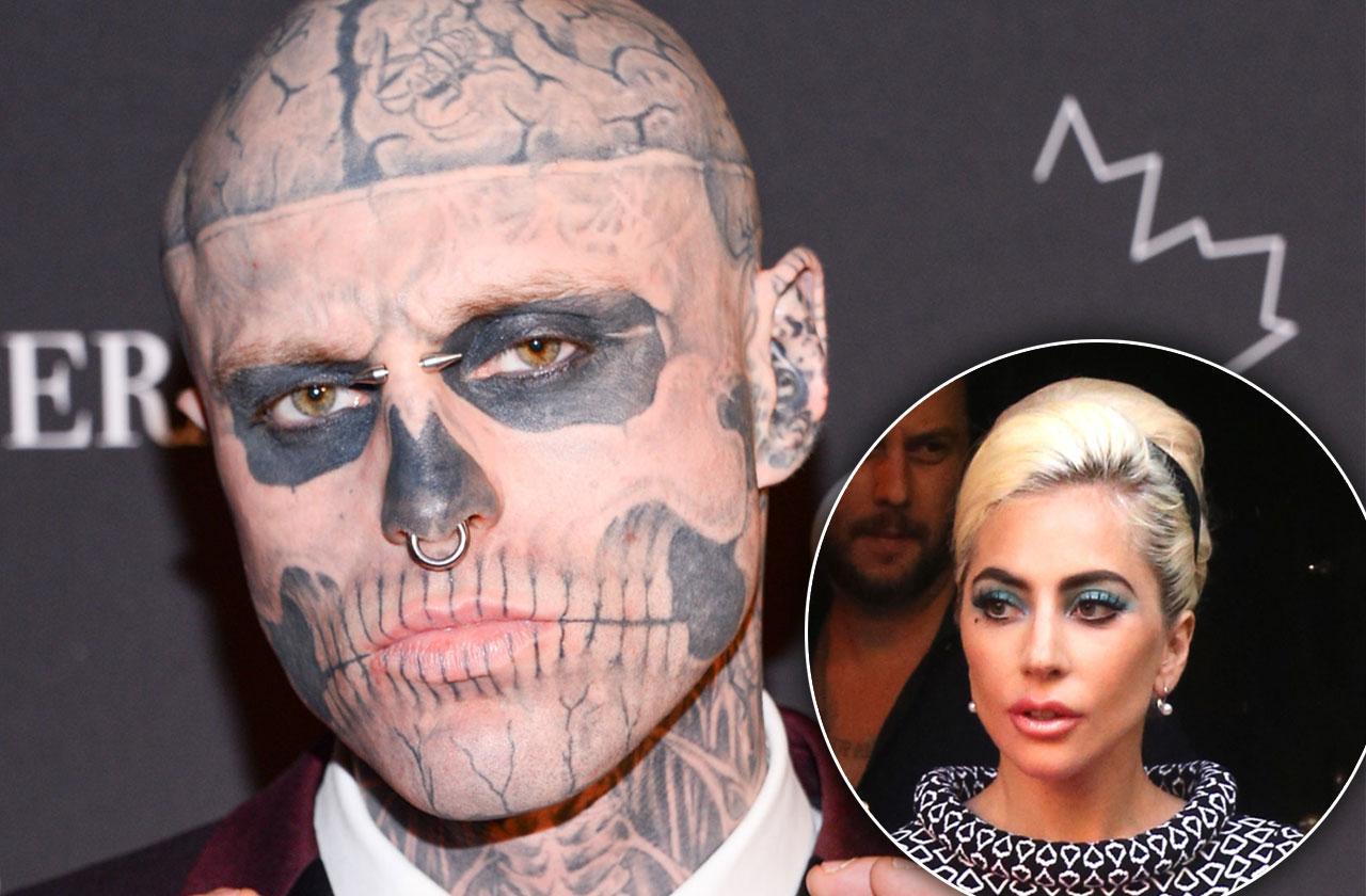 Lady Gaga Friend Model Zombie Dead Suicide