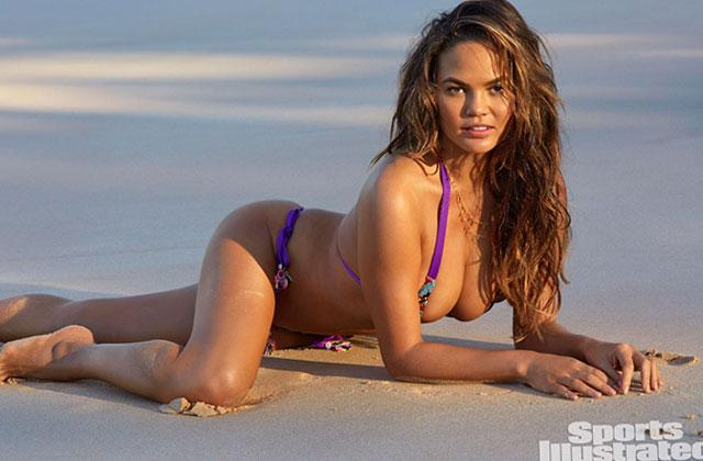 //sports illustrated swimsuit special chrissy teigen bikini