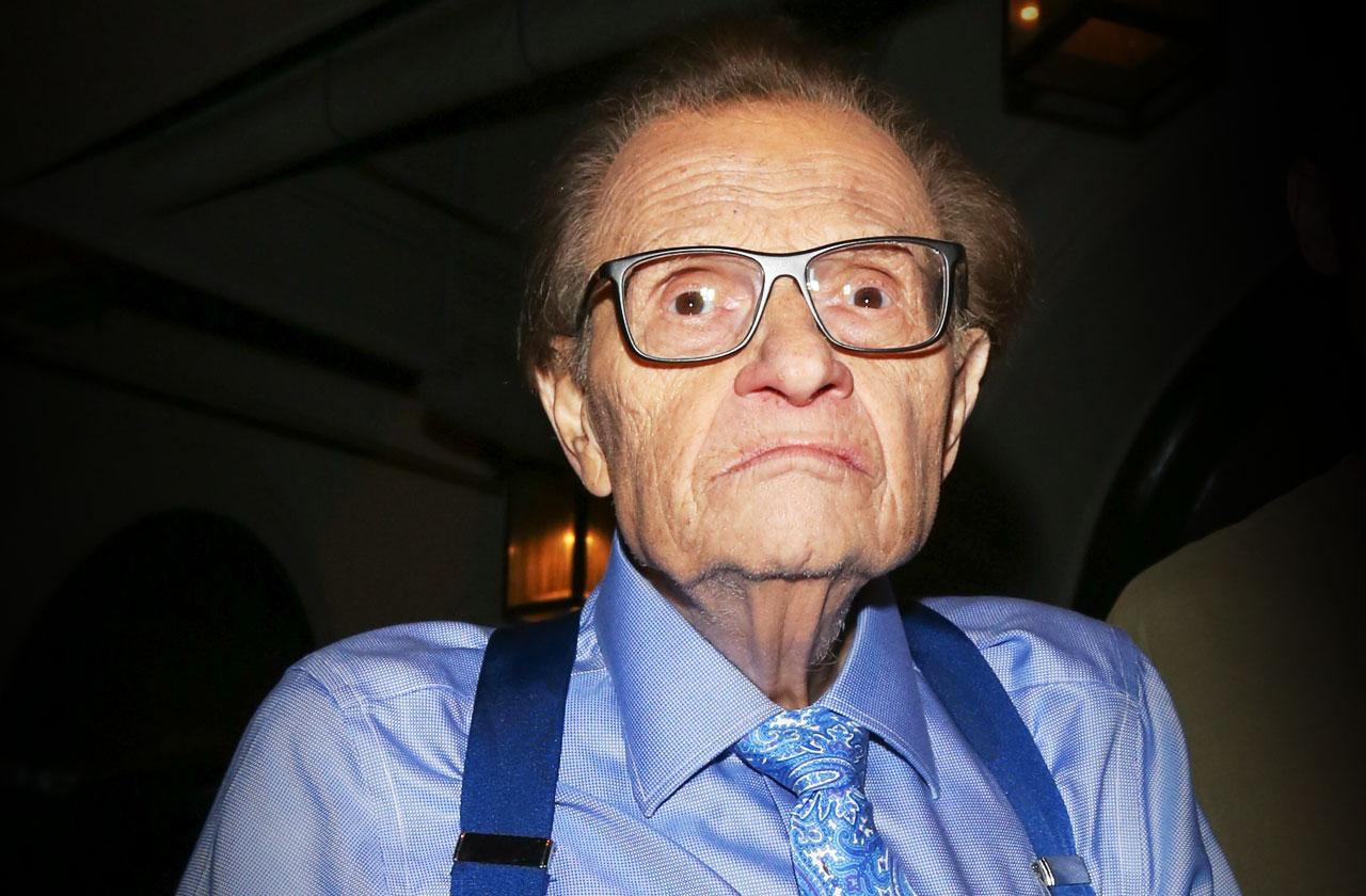 //larry king lung cancer  pp