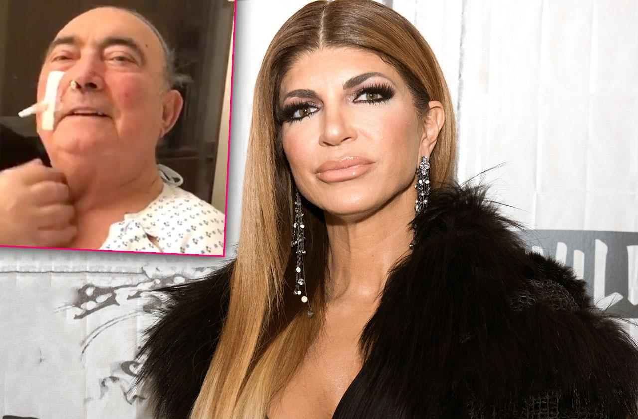 //teresa giudice father is hospitalized  pp