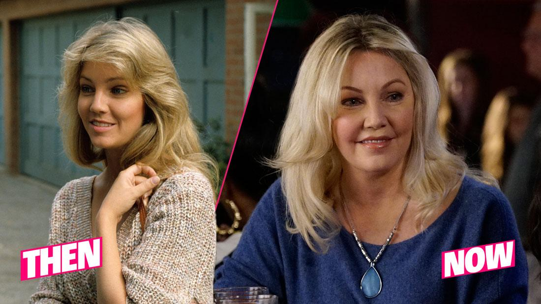 """DYNASTY - """"Reconciliation"""" - Season Two - 12/2/81 Steven (Al Corley) and Sammy Jo (Heather Locklear) dated. Jessica accidentally befriends Marvin's ex-wife, Sarah (Heather Locklear), and tries to help her and Honey settle their longstanding rift."""