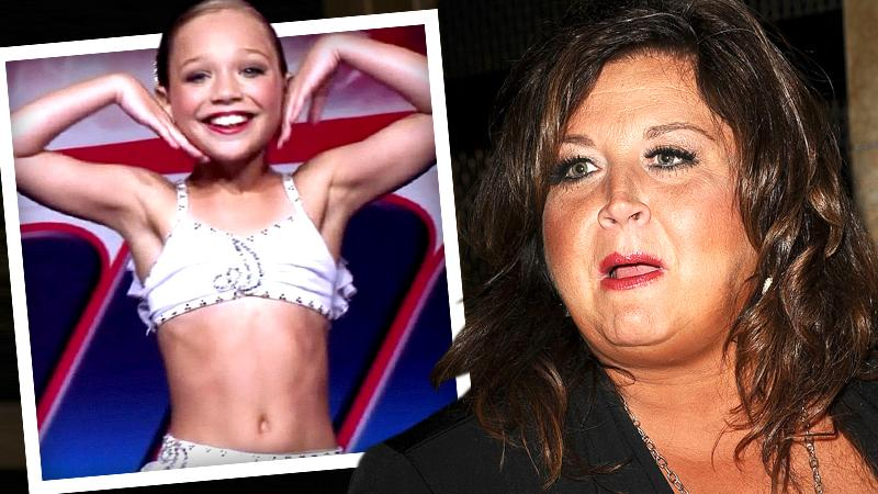 //abby lee miller admits production set up maddie ziegler fail competition on camera criminal pp sl