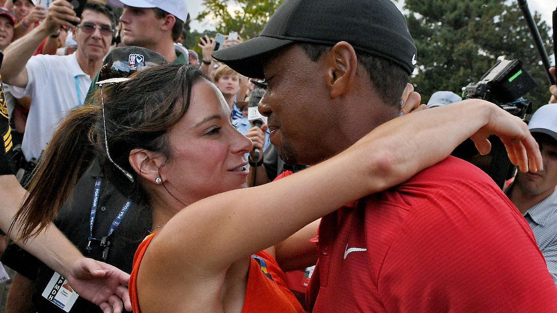 Tiger Woods Wins Masters Girlfriend Erica Herman ...