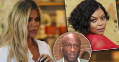 Khloe Accused Of Breaking Up Ex Lamar & Taraji P. Henson