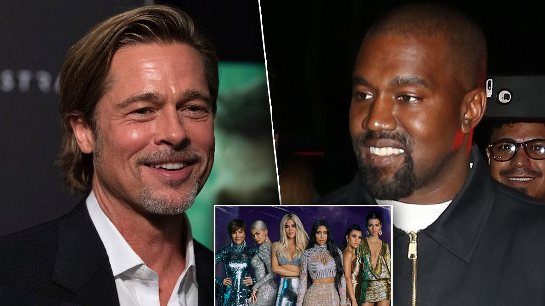 Brad Pitt Gushes About Kanye West Church Service After Attending
