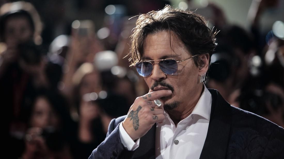 Johnny Depp 'Waiting for the Barbarians' premiere, 76th Venice Film