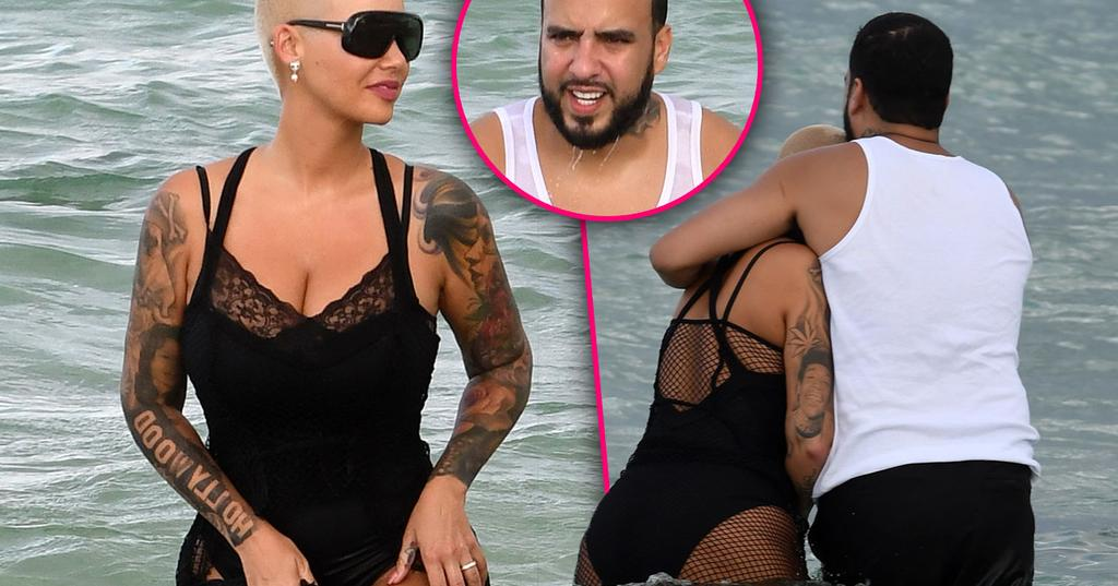 Who did amber rose date