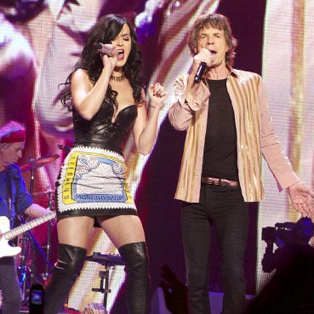 //katy perry hit on by mick jagger
