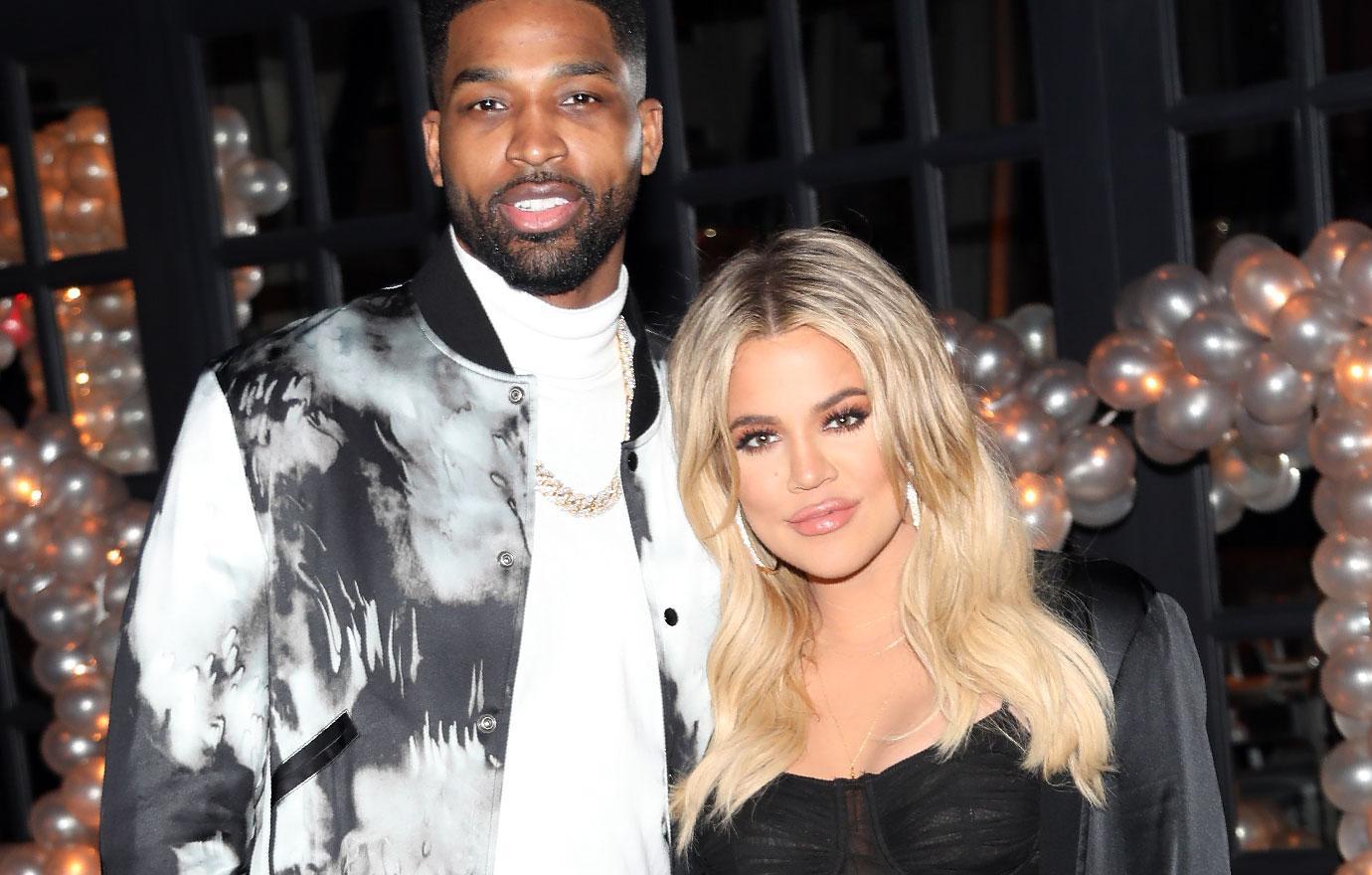 Khloe Kardashian And Tristan Thompson Celebrate New Year In Cleveland
