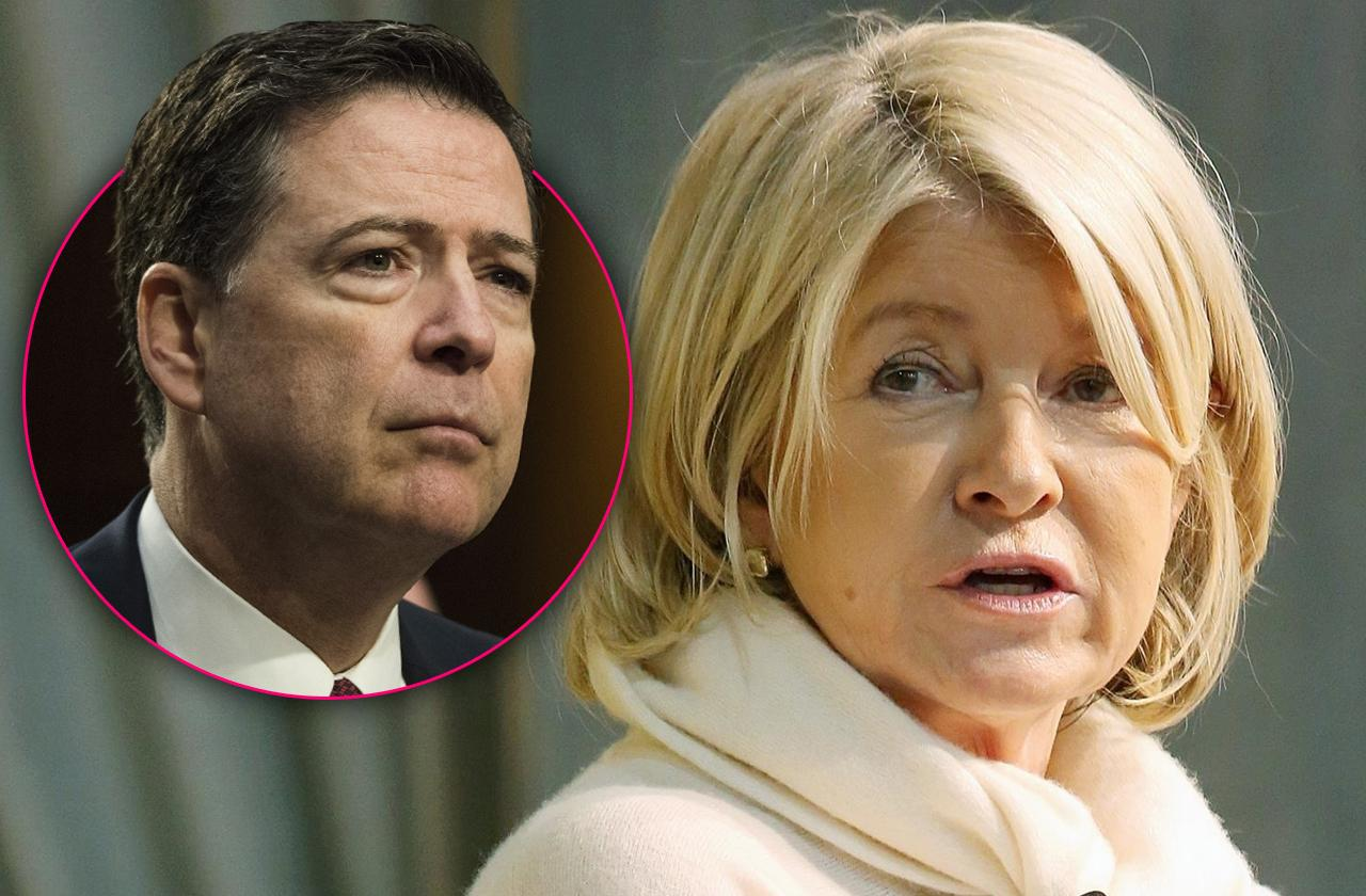 //james comey busted martha stewart trading crime prison higher loyalty autobiography pp
