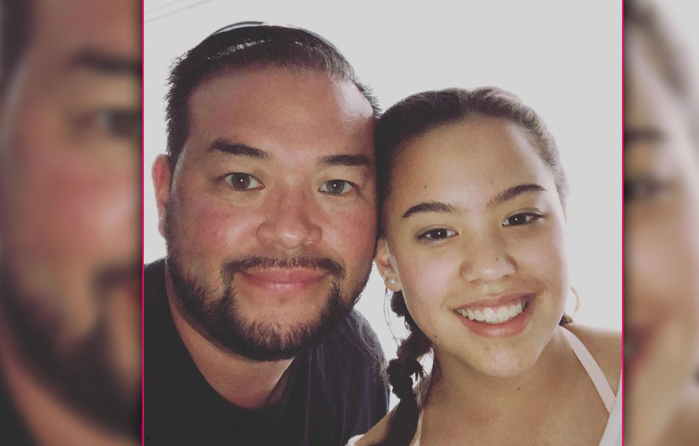 Jon Gosselin Shares New Photo With Daughter Hannah School's Out