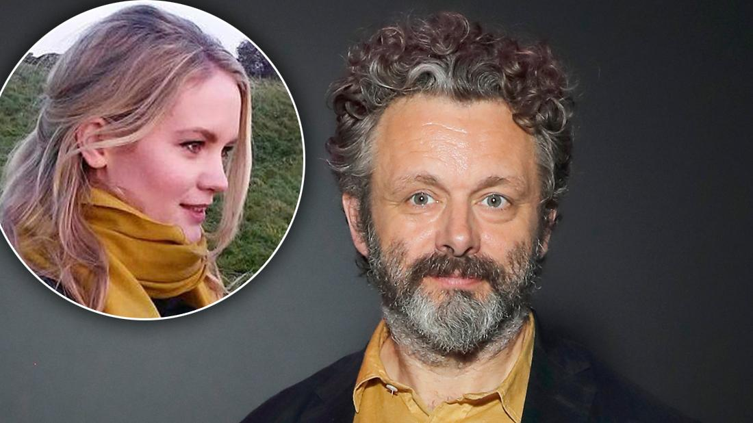 Michael Sheen Smiling With Inset Anna Lundberg