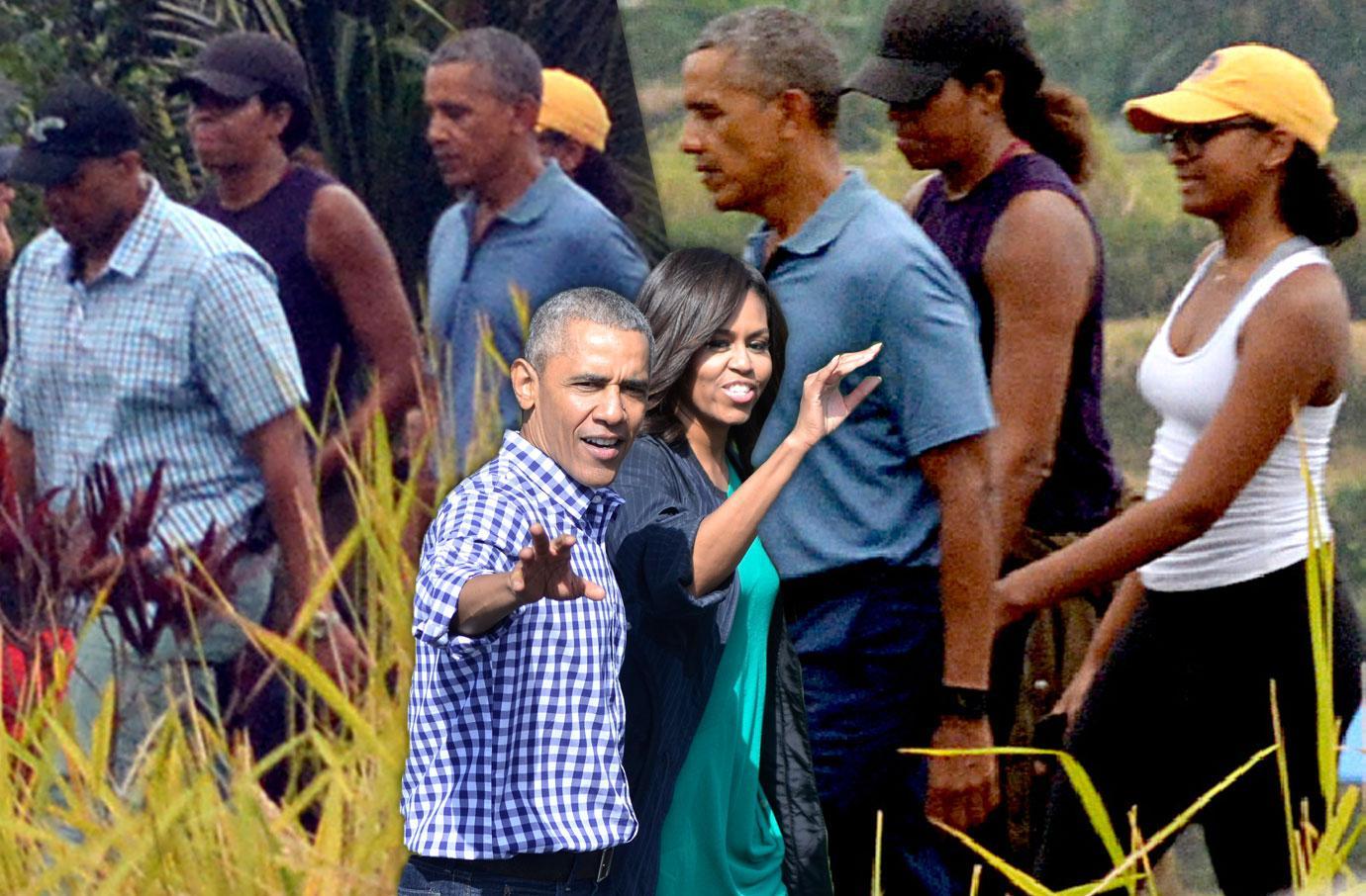 Obamas Enjoy Luxury Vacation Bali