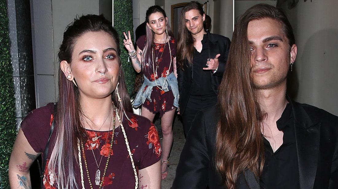 Paris Jackson Parties With Boyfriend Amid Family's Concerns