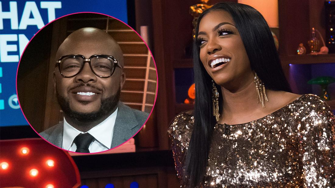 Porsha Williams at Watch What Happens Live.
