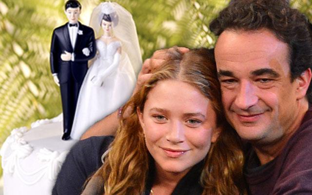 Mary-Kate Olsen Olivier Sarkozy Wedding