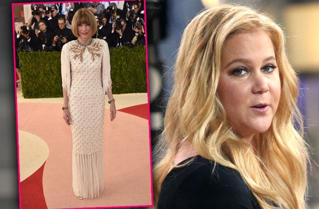 amy schumer howard stern slams met gala vogue beyonce