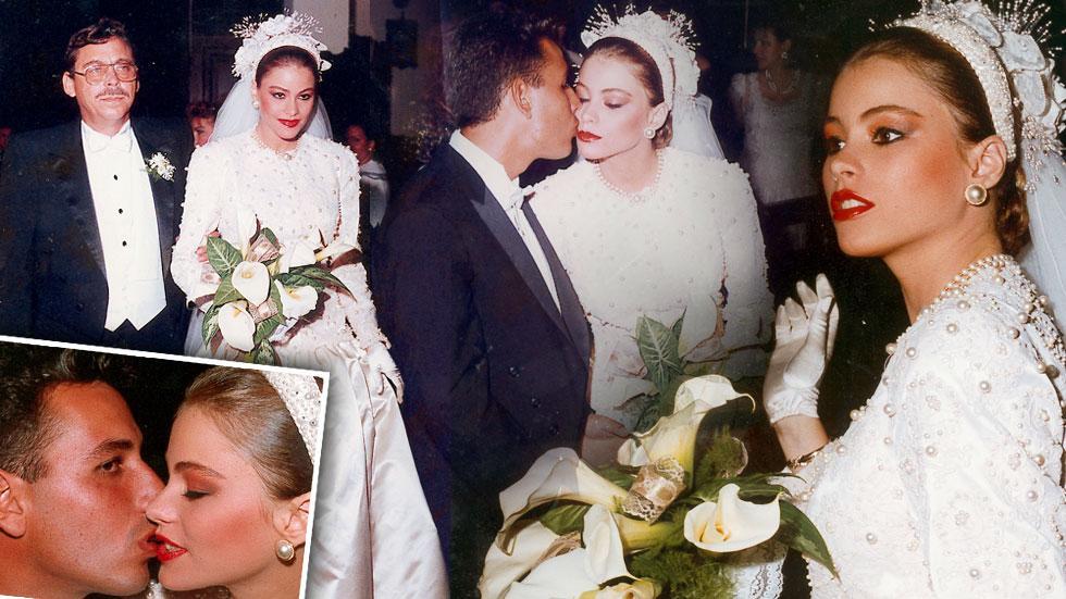 Sofia Vergara First Wedding