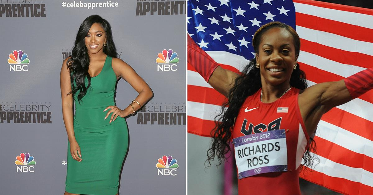 rhoa porsha williams seen in africa not returning show replaced olympian pp