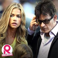 //charlie sheen denise richards work our child support housing issues sq