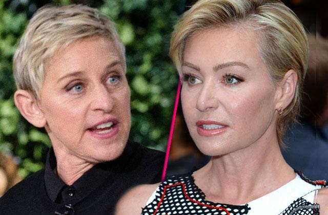 //Ellen DeGeneres Portia De Rossi Baby pp