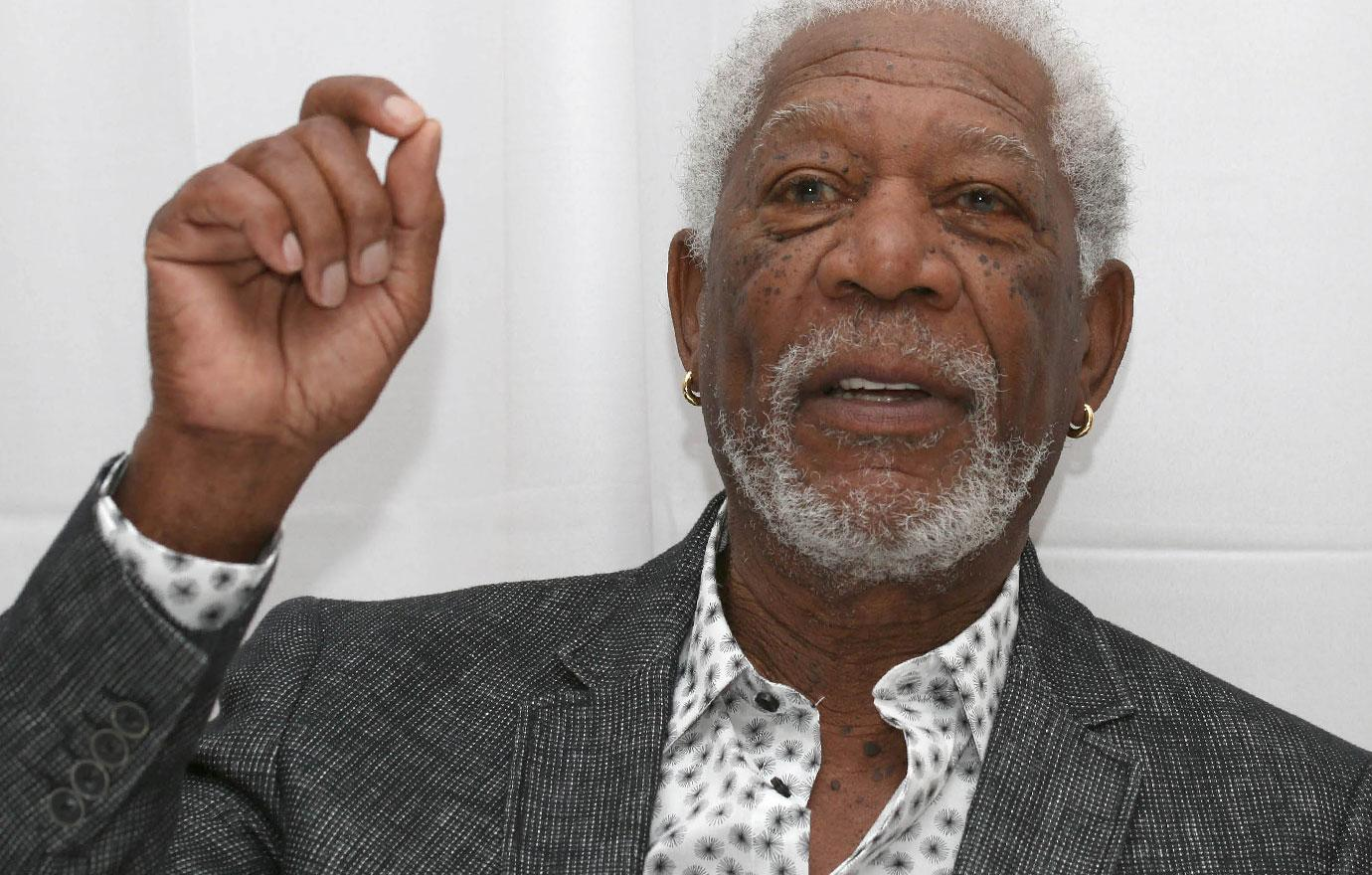 Morgan Freeman Slams Sex Harassment Claims In New Statement