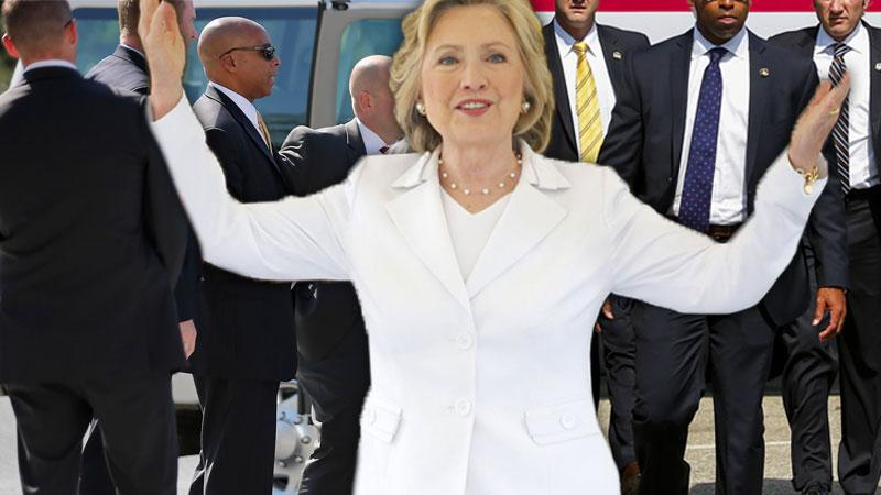 Secret Service Agents Hate Guarding Hillary Clinton