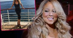 //Mariah Carey Photoshop Fail Instagram Vacation French Riviera pp