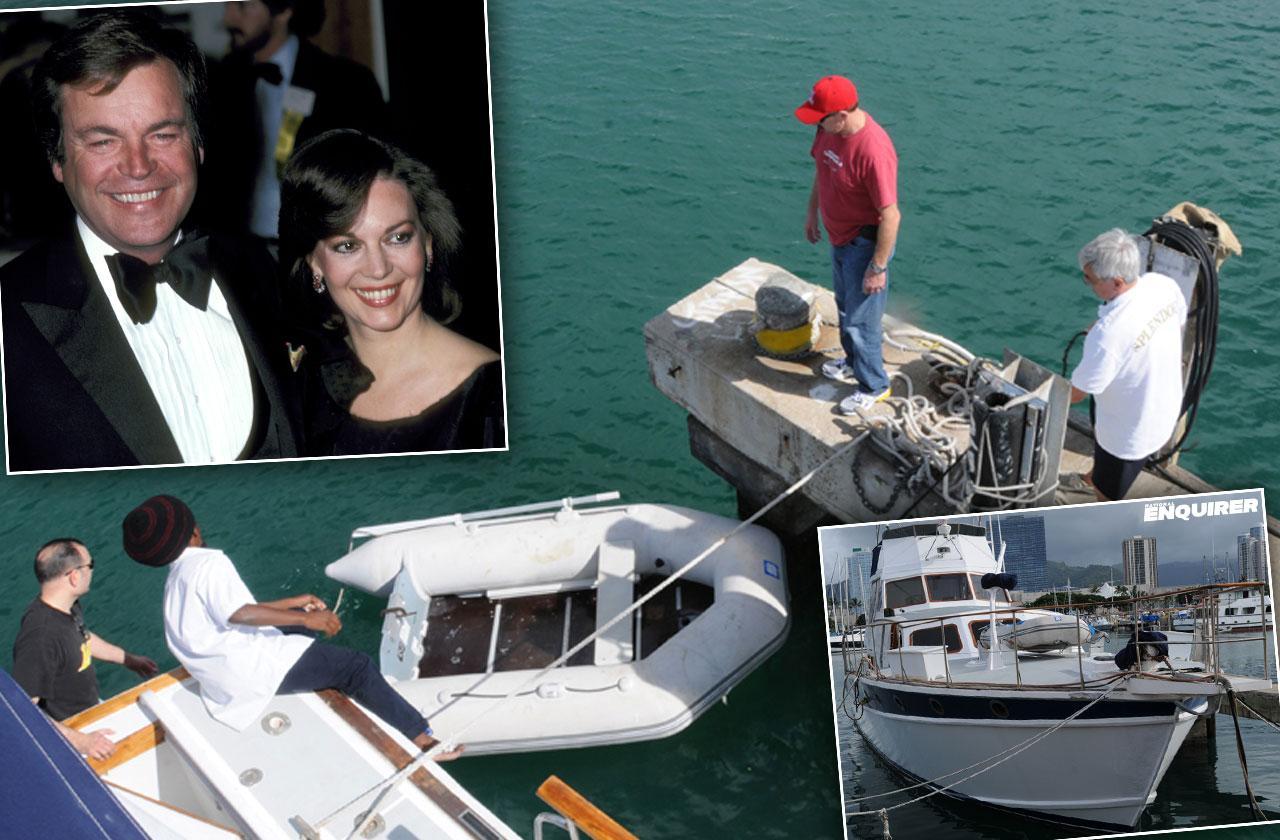 Robert Wagner Natalie Wood Death Yacht Photos