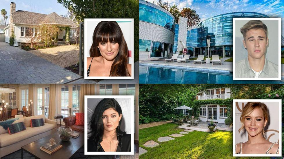 //luxurious celebrity homes