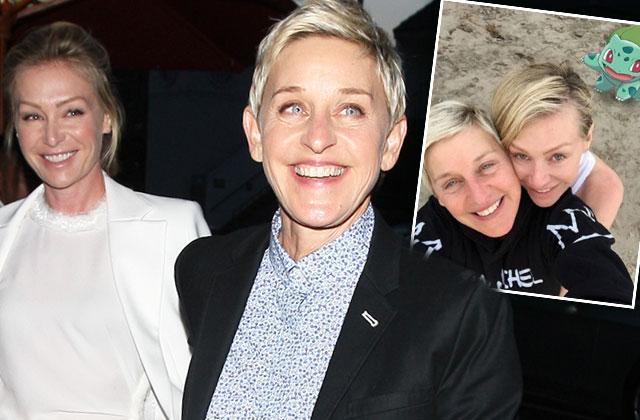 Ellen Degeneres Portia De Rossi Marriage Vacation