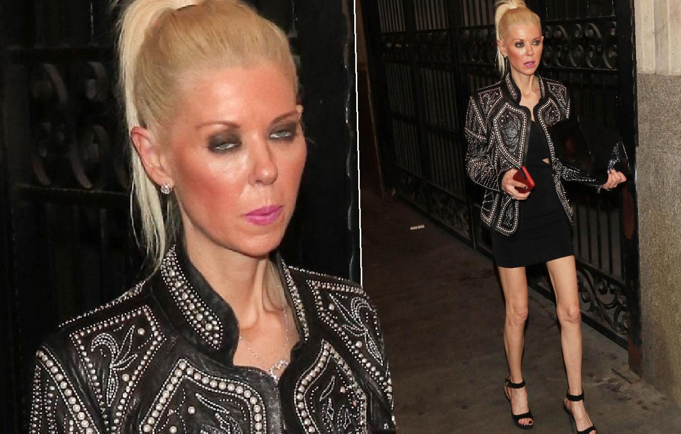 Tara Reid Looks Scary Skinny