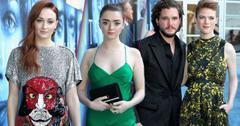 Game Of Thrones Premiere Season 7 Kit Harrington Sophie Turner Photos