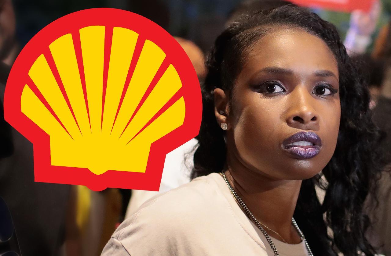 jennifer hudson death threats shell company oil ad