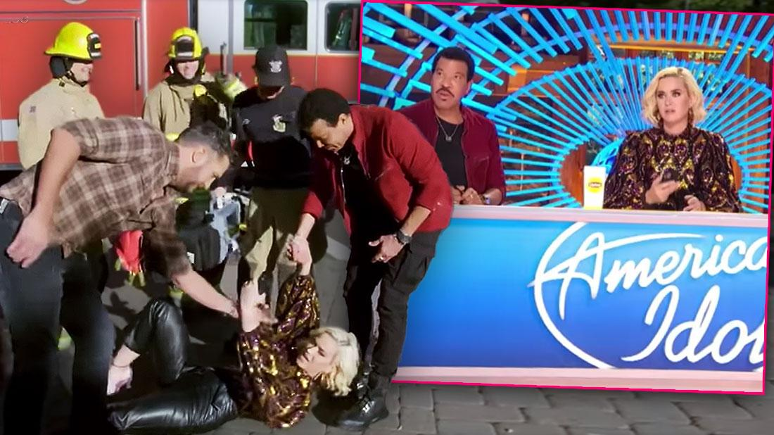 Katy Perry Collapses Due To Gas Leak At 'American Idol' Auditions
