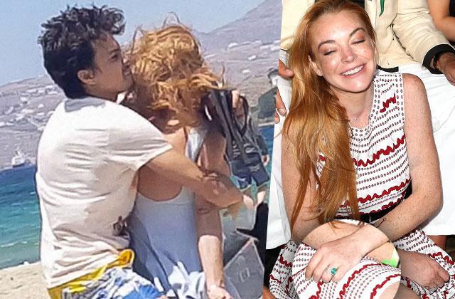 Lindsay Lohan Engagement Ring Russian Fiance Egor Tarabasov