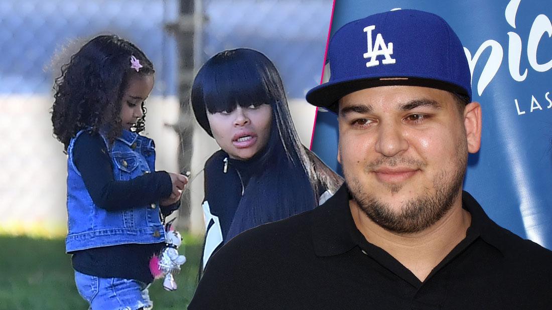 Rob Kardashian Asks For Full Custody Of Dream, Demands Blac Chyna Submit To Drug Testing