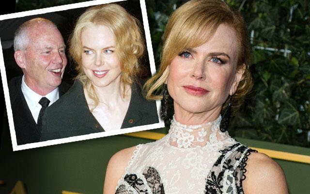 Nicole Kidman Late Father