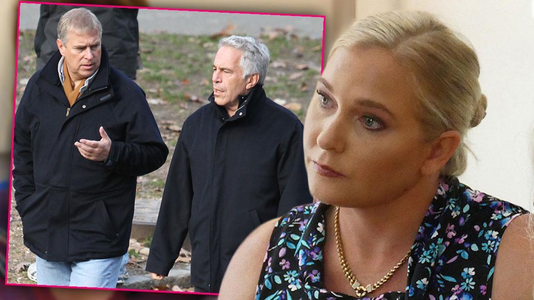 Prince Andrew & Jeffrey Epstein Walking, Jeffrey Epstein Victim Virginia Roberts Says People Want Her Quiet