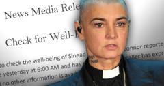 //Sinead OConnor Missing Suicidal Press Release