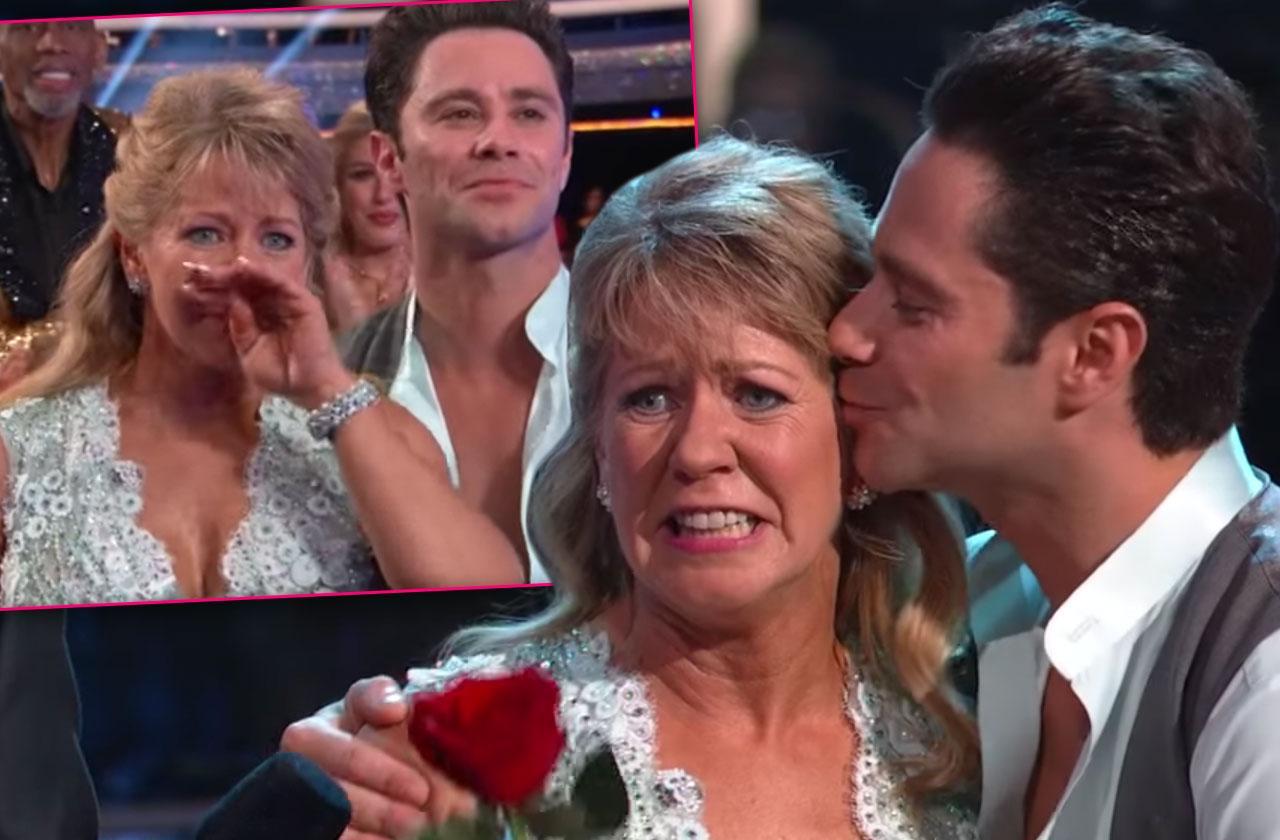 DWTS Tonya Harding Fake Crying Season 26