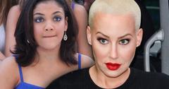 dwts feud laurie hernandez olympics amber rose