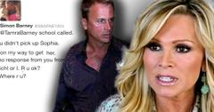 Tamra Barney's Hubby Accuses Her Of Not Picking Kids Up From School