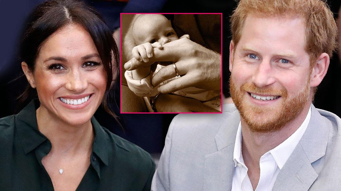 Prince Harry & Meghan Markle Share Photo Of Duke Of Sussex