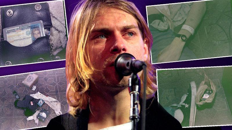 Kurt Cobain Never Seen Before Death Scene Photos